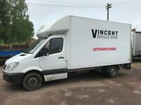 Mercedes-Benz Sprinter 2.1TD 313CDI LWB 13ft 6in GRB Luton & Tail Lift