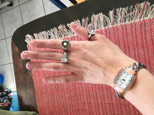 Rings and watch