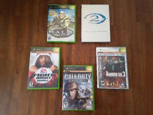 Lot de jeux Xbox - *10$ chaque ou 35$ pour le lot*