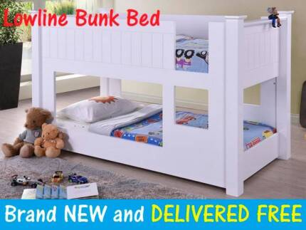 BRAND NEW Low Level Low Line Kids Bunk Bed DELIVERED FREE