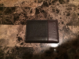 Chocolate Brown Leather Coach Wallet