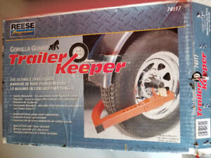 Trailer wheel lock