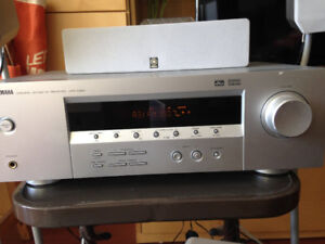 Yamaha HTR5920 5.1 Home theatre audio system +  6 speakers