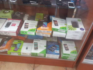 Smart phones, flip phones on sale