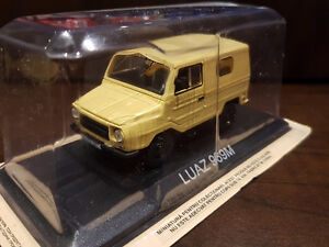 Luaz 969M , soviet 4x4 die-cast model by Ixo 1/43