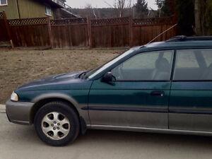 1999 Subaru Legacy Grey Hatchback