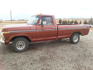 1979 FORD F150 SINGLE CAB LONGBOX