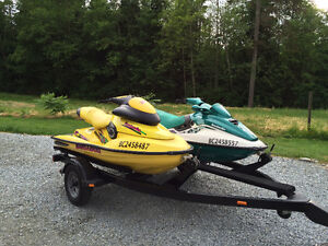 Pair of seadoos with all the extras!  Fully loaded package