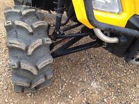2008 Outlander 800 Lift Kit with Gorilla Axles