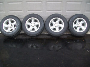 OEM CHEVY S-10 TRUCK TIRES AND RIMS