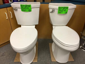 NEW AMERICAN STANDARD CHAMPION 4 MAX TOILETS - RIGHT HEIGHT