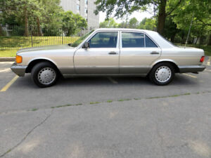 1989 MERCEDES-BENZ 300SE COLLECTORS w/58,000 KMS ONLY!