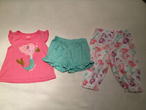Small lot baby girl clothing