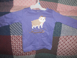 New without tag Girls 6m top