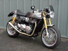 TRIUMPH THRUXTON R MODERN CLASSIC MOTORCYCLE