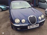 Jaguars s-type v6 se auto-2967
