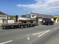 Boat transport road or sea outboard servicing repairs mercruiser rib caravan trailer moorings