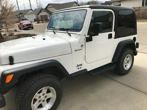 2005 Jeep TJ In Great Condition