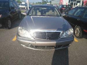 2004 Mercedes-Benz S-Class Grey Sedan