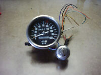 Speedometer + Ignition Cylinder with key.