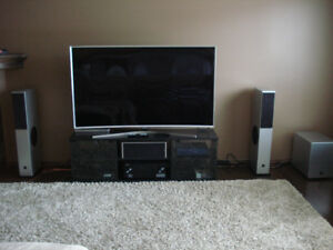 "Samsung 65"" Curved TV and complete sound system, u need"