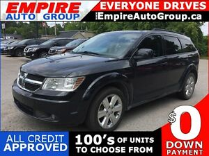2009 DODGE JOURNEY SXT * SUNROOF * SAT RADIO SYSTEM * PREMIUM CL