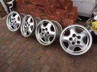Alloy wheels(4),