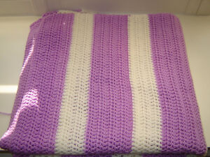 Afghan wrap or throw blanket