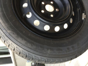 All season tires with rims for sale.