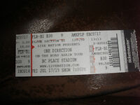 One Direction Ticket- July 17 2015- Floor Seat Section FLR-B1