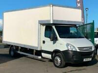 IVECO DAILY LUTON IN WHITE