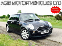 2004 AUTOMATIC MINI ONE 1.6 PETROL AUTO CVT - ONE OWNER FROM NEW - LOW MILES