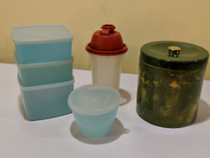 Great Tupperware Selectionnwith LIDS  and Canister   $8