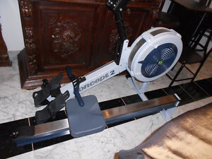 Concept 2 model D with PM3 rower