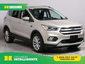2018 Ford Escape Titanium AWD CUIR TOIT NAV MAGS BLUETOOTH CAM R