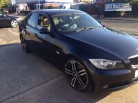 BMW 320D/E90 SUNROOF auto cream leather seat 19 inch Alloys wheel low Milage only 93k
