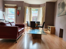 One bed large first floor furnished flat