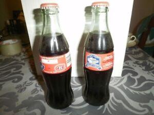 Coca-cola collector bottles