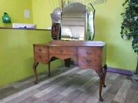 20% OFF ALL IN STORE ITEMS* Dillon Walnut Dressing Table - Can Deliver For £19