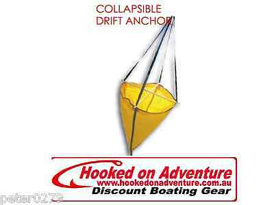 DROGUE COLLAPSIBLE DRIFT BURKE ANCHOR SEA ANCHOR up to 7m boat SEA199C