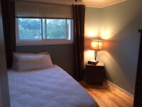 Clean quiet room available by Conestoga Mall