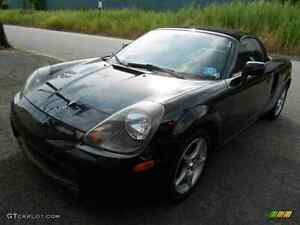 Very cool Toyota MR2 spider convertible for trade or sale