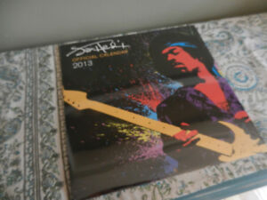 Jimi Hendrix 2013 Official Calendar Still Sealed Brand New