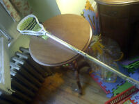 Reebok 3K Lacrosse Stick Complete with Net 40 Inches