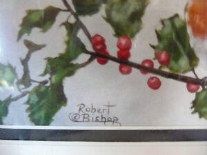 """Robert Bishop """"Waiting"""" Art Print Stratford Kitchener Area image 4"""