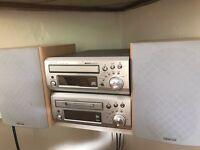 Denon CD/miniCD stereo system