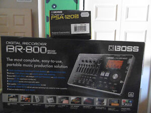 DIGITAL RECORDER BR-800 BOSS AND AC ADAPTER