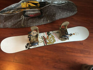 like-new Snowboard, bag, boots, pants. Burton, 32, Special Blend