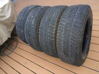 For Sale Set of 4 Tires Michelin  LTX A/T  P265/70/R17