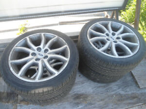 Ford Fusion tires and rims